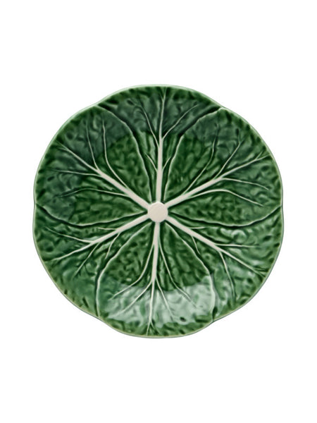 Bordallo Pinheiro - Green Cabbage Collection, Dessert Plates - 2 Colours
