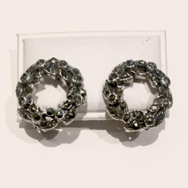 Vintage Marcasite Wreath earrings