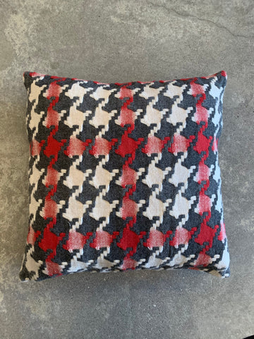 Burel - Pied-de-Coq Wool Cushion - 2 Colours