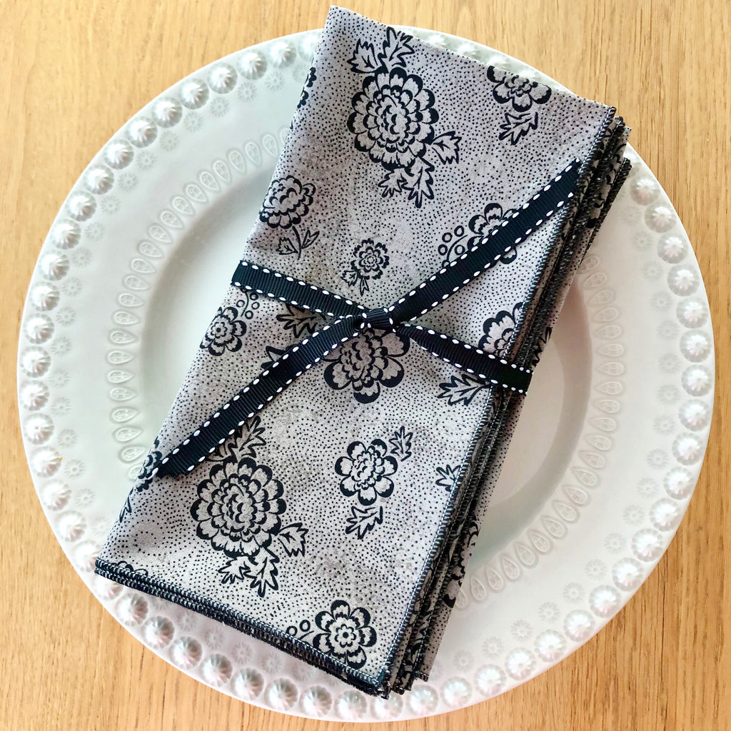 The Blair Stitch Project - 100% Cotton Dinner Napkins, Set of 4 - Various Patterns