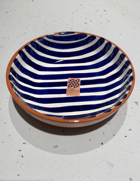 Casa Cubista - Bold Pattern Bowl - 2 Colours