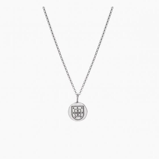 Necklace Escudo in Silver