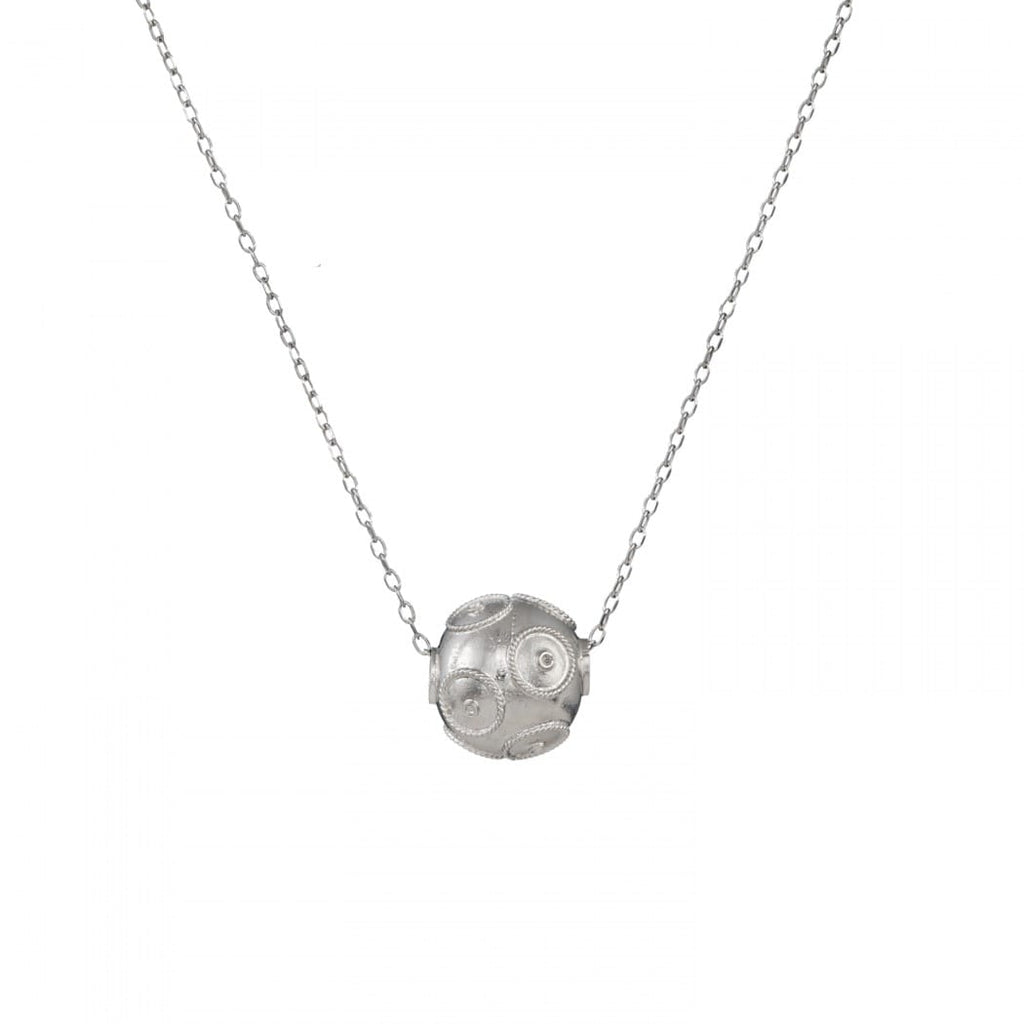 Portugal Jewels - Necklace Viana's Conta in Silver