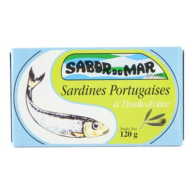 Sabor do Mar - Marinated Sardines 120g - Various Flavours