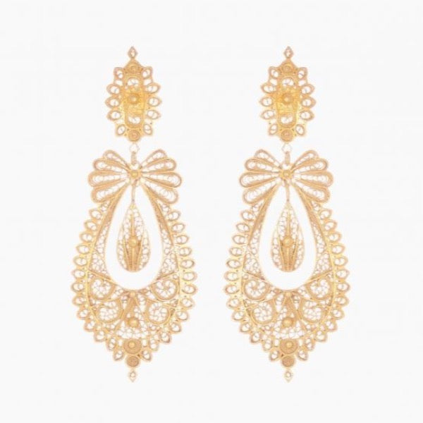 Portugal Jewels - Filigree Icon Princess earrings