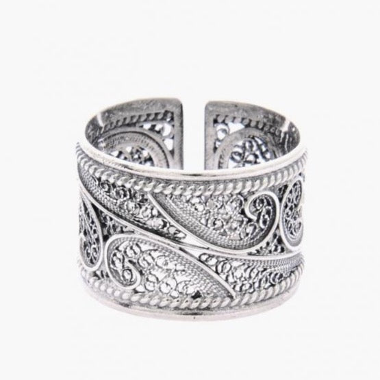 Portugal Jewels - Ring Filigree in Silver