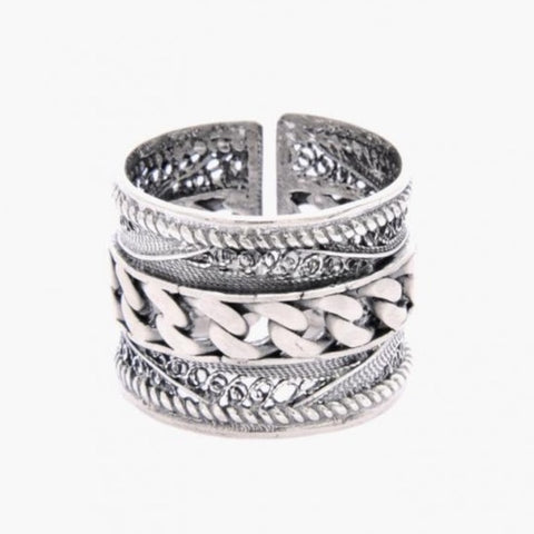 Portugal Jewels - Ring Rope in Silver