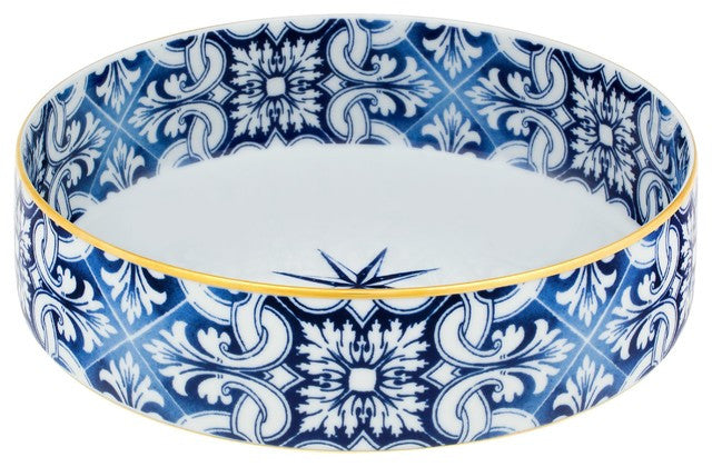 Vista Alegre - Medium Salad Bowl Cardinal - Transatlantica Collection