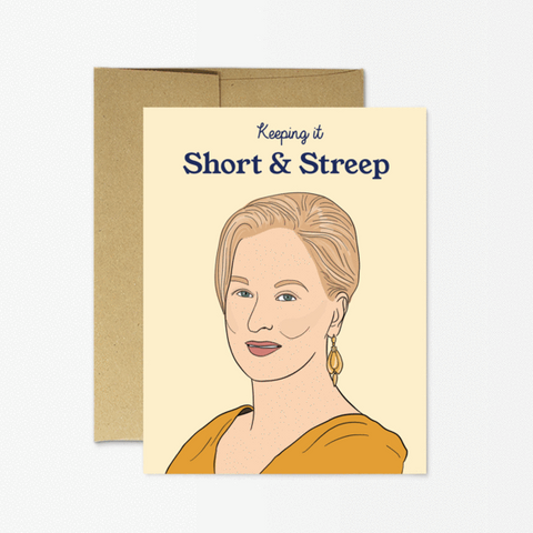 Streep - Any Occasion