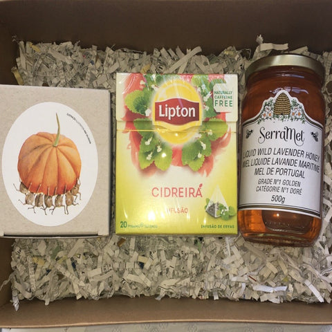 Gift Set - Pumpkin Jam, Tea & Honey