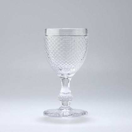 Water Stem Glass - Pointed Set;  Various Colours