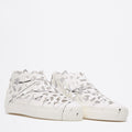 Round Splash Sneakers white