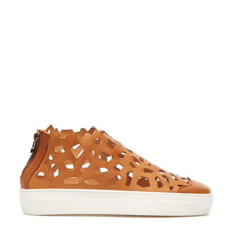 Round Matt Sneakers orange