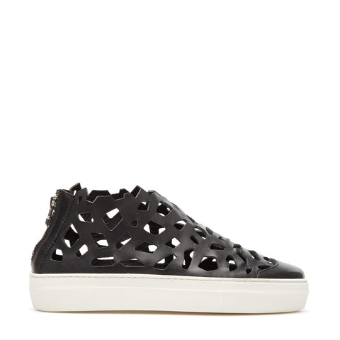 Sneakers Round Matt Black