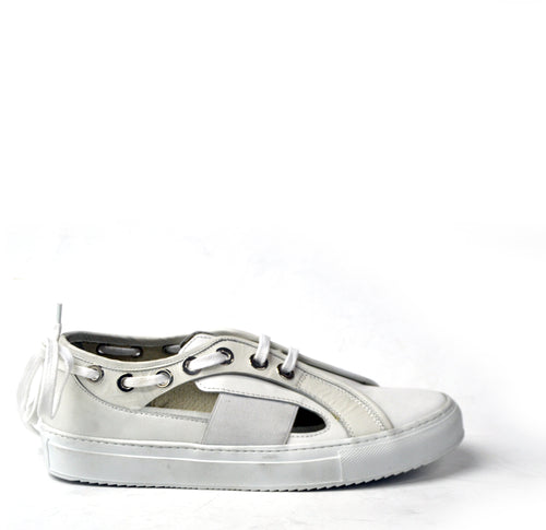 MARCH 21 |Ingrid ice leather open sneaker