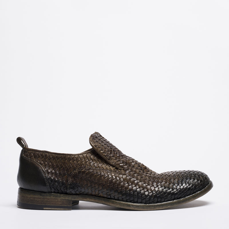 EddyLoo green-brown loafer