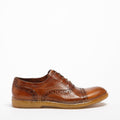 Sean Laced Shoes natural vacchetta leather cuoio