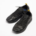 Johnny Laced Shoes soft natural leather black