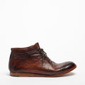 Bill Laced Mid Shoes natural vacchetta leather terra