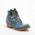 Natalie Embroidered Jeans Texan Boots destroyed Jeans jeans