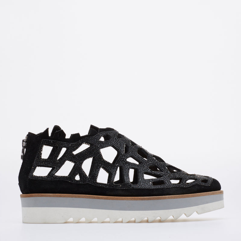 Shark Swarovski Sneakers black