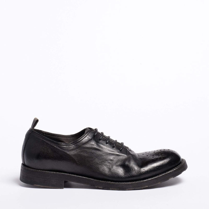 Rustin Laced  Shoes Natural Buffalo leather black