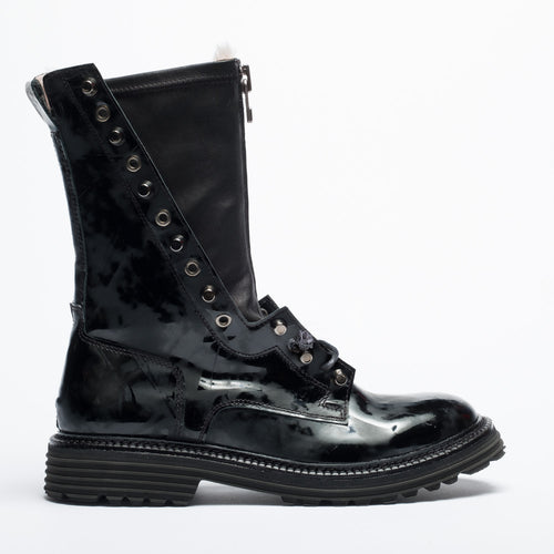 Amma black urban boot