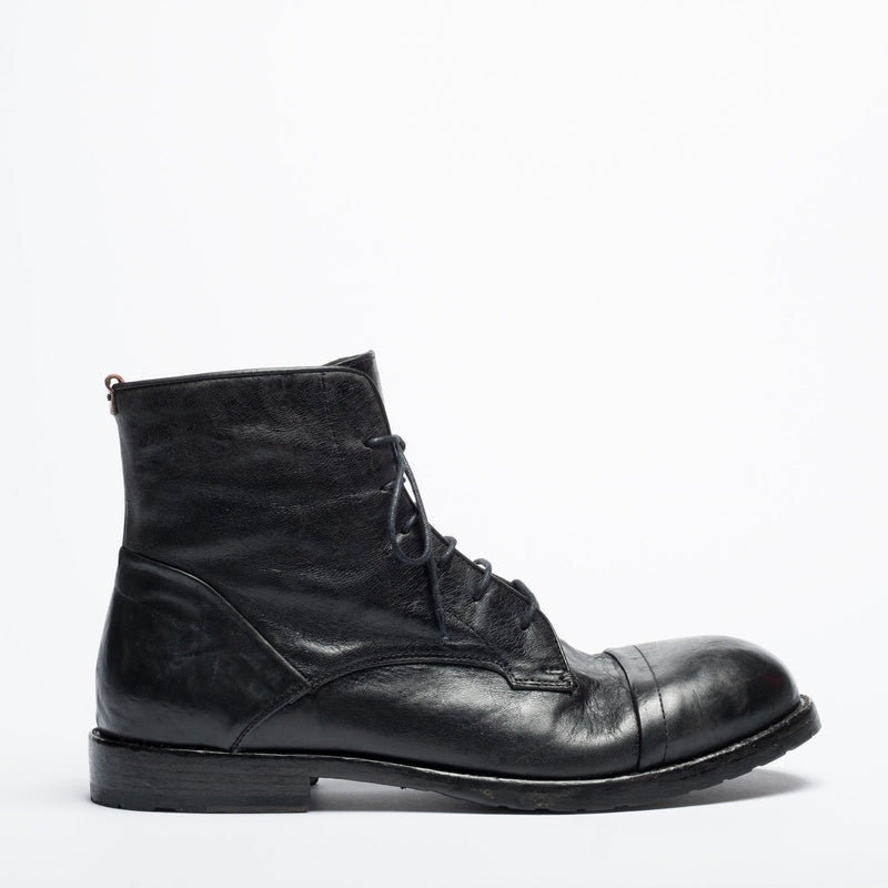 Belfast black urban boot