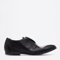 Brad Plain Laced Shoes black