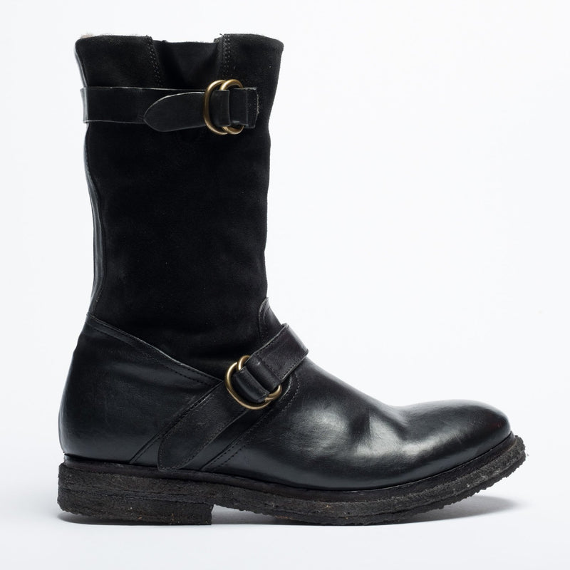 Cox black urban boot