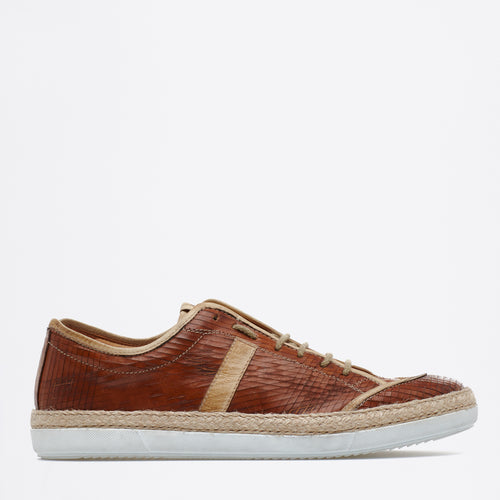 Dirk Lace-up Sneakers caramel