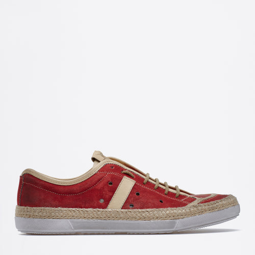 Dirk Lace-up Sneakers red