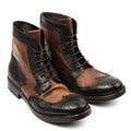 Dixon Brown Laced Mid Boots