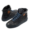 Dollar Black Mid Sneakers