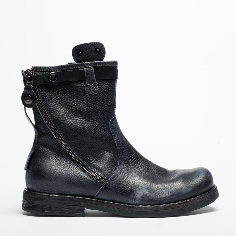 Farral black aviator boot