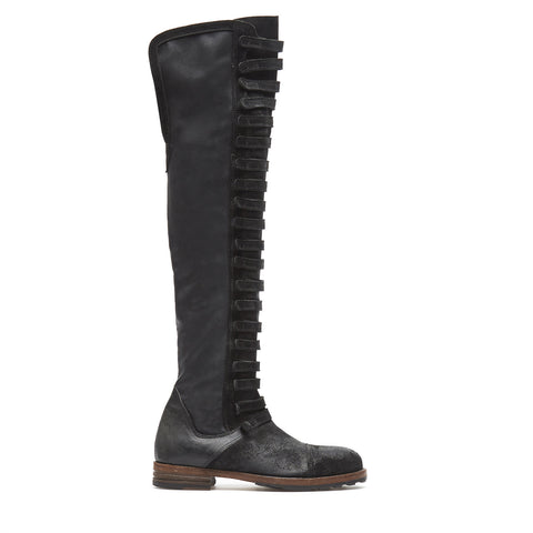 Lady Mozart Black High Boots
