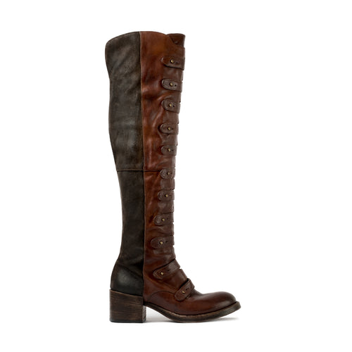 Lady Mozart Brown High Boots