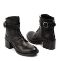 Michonne Black Laced Boots