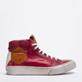 Mundialito high red sneakers