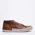 Mundialito mid brown sneakers