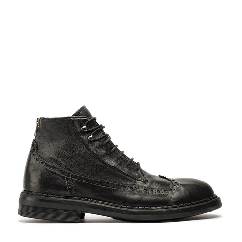 Paul Black Mid Boots
