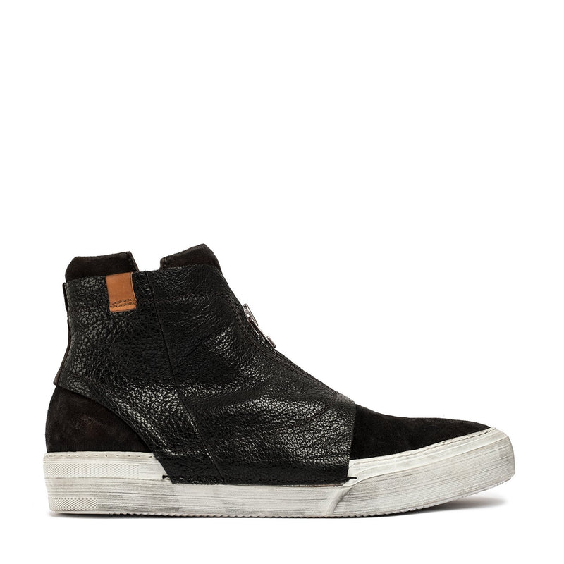 Rochelle Black Mid Sneakers