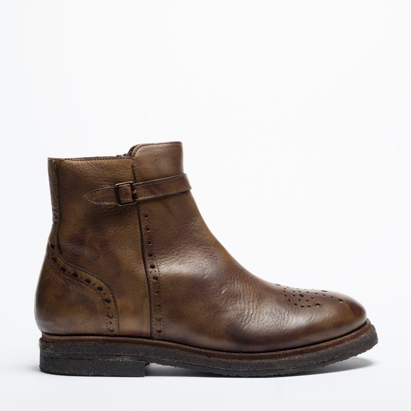 RyanThomas olive brown urban boot