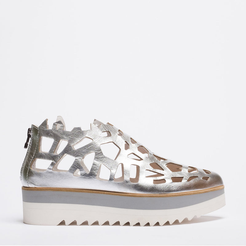 Shark2 silver sneakers
