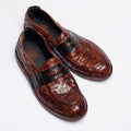 Teo brown-black loafer