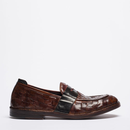 Teo brown loafer