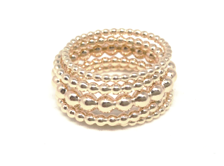 RINGS! STACK BAR by erin gray