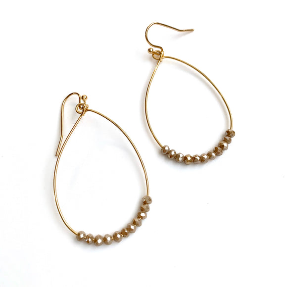 Ella Earring in Champagne