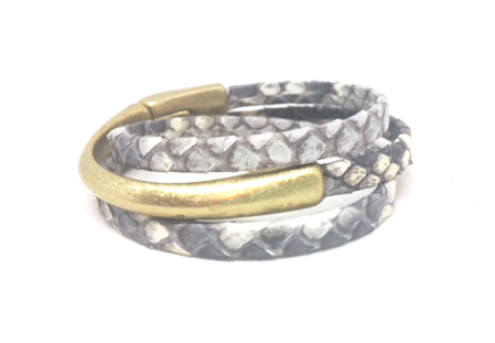 HOOKed on a CURE triple wrap bracelet - gray market jewelry