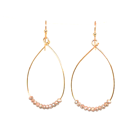 ella earring in champagne - gray market jewelry